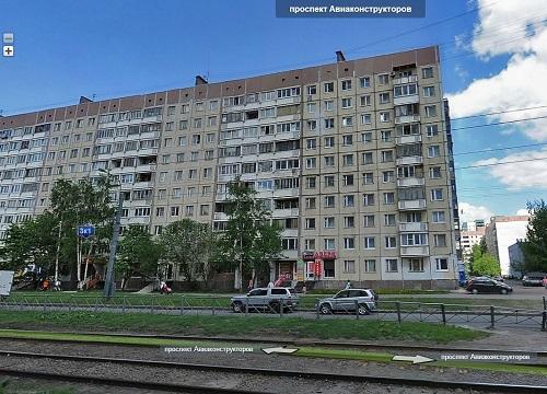Типы домов в Санкт-Петербурге - 504 серия